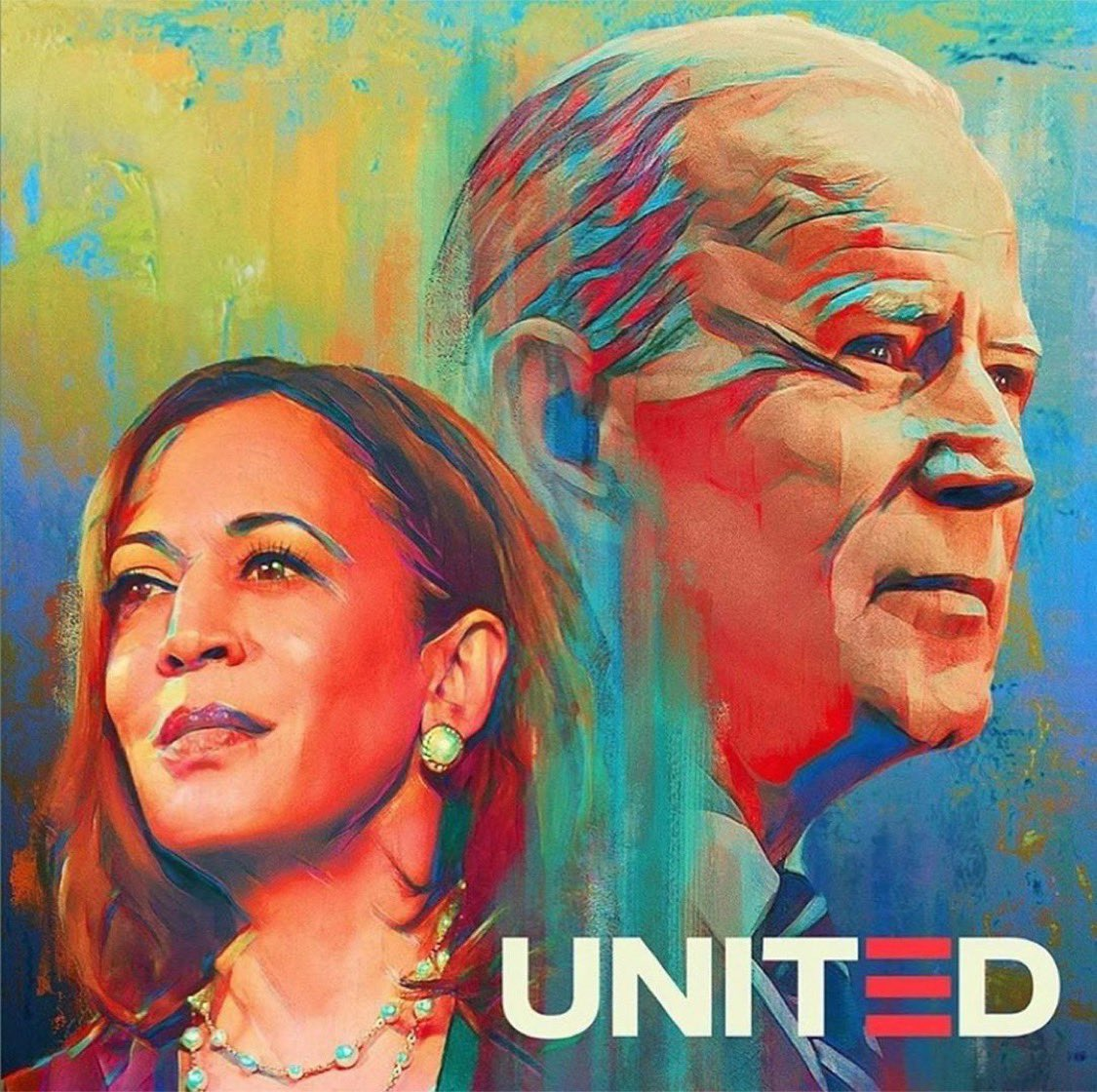 I am just so overcome with Joy. My heart is so full right now, bursting really.  History was made. We did this. We showed up and WE DID IT!!!!!!!!! #BidenHarris2020