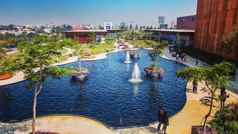 La azotea verde más grande del mundo está en Naucalpan, Estado de México.
