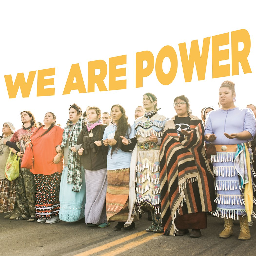 You may not see this in the news headlines, but all across the nation, Native peoples united to turn out the Native vote and shape this election. Today, we thank all the Native organizers, volunteers, youth, organizations, networks -- we see you and we love you! #BuildNativePower