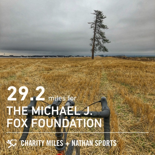 Replying to @GroveAyers: 29.2 @CharityMiles for @MichaelJFoxOrg in honor of my Dad. Onward.  Keep Moving.
