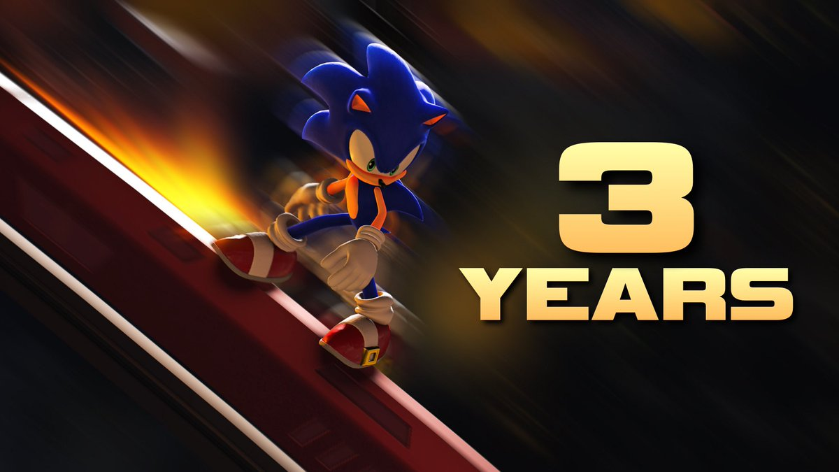 CyBrid101 - Sonic Forces released 3 years ago today!