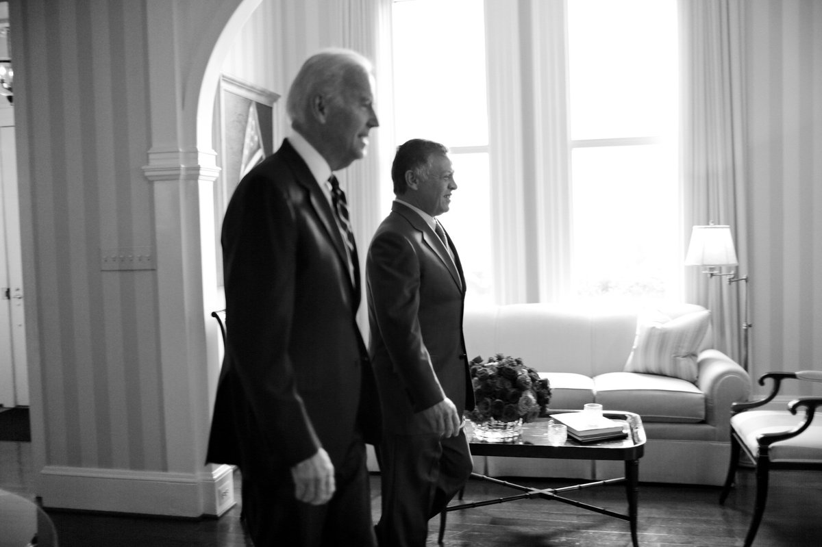 Congratulations to President-Elect @JoeBiden and VP-Elect @KamalaHarris. I look forward to working with you on further advancing the solid historic partnership between Jordan and the United States, in the interest of our shared objectives of peace, stability and prosperity