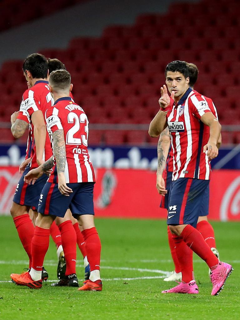 Vamos equipo GRAN PARTIDO para seguir sumando +3 👌👏 🔴⚪️ @Atleti #aupaatleti #grandeequipo #siemprepositivo #seguircreyendo