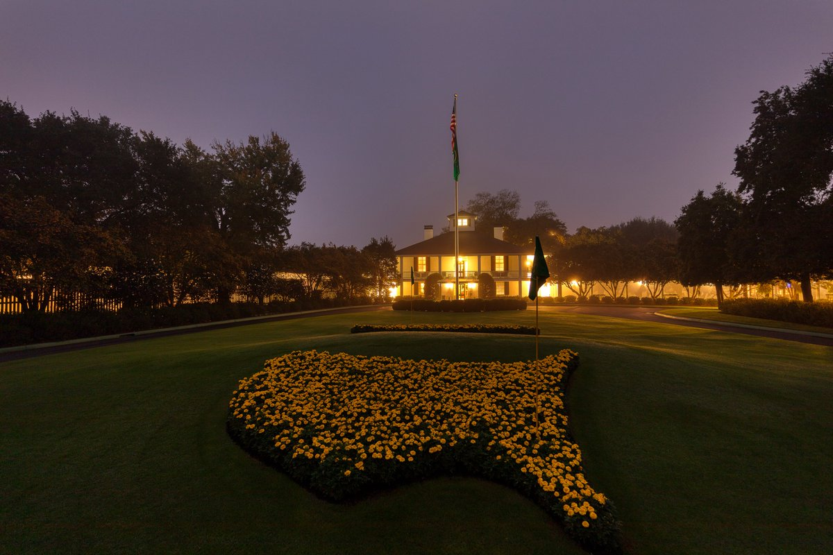 Replying to @TheMasters: Good Morning from Augusta National Golf Club.