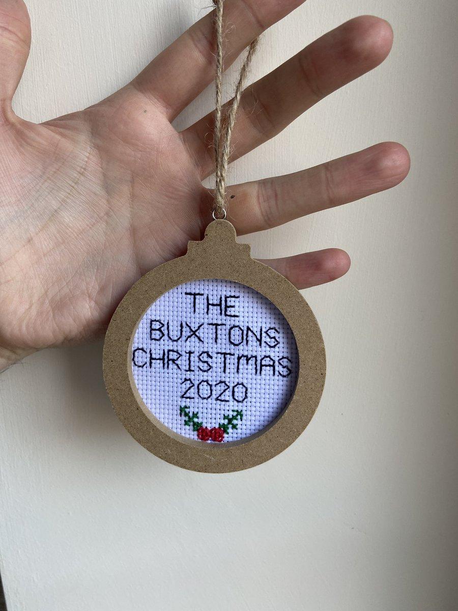 @_MrLevick I make cross stitch gifts ☺️