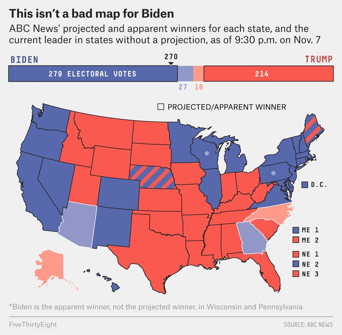 AND THAT'S A WRAP 😭😭😭 (beautiful map from @wiederkehra ) fivethirtyeight.com/live-blog/2020…