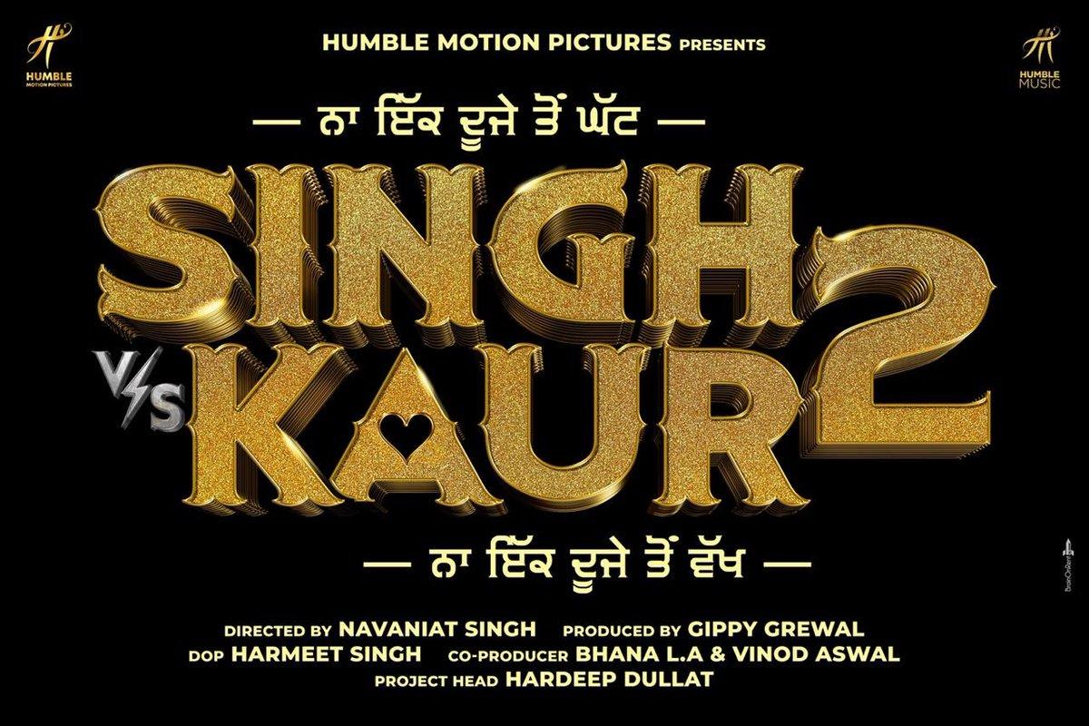 #ComingBack #SinghVsKaur2 @GippyGrewal #NavaniatSingh