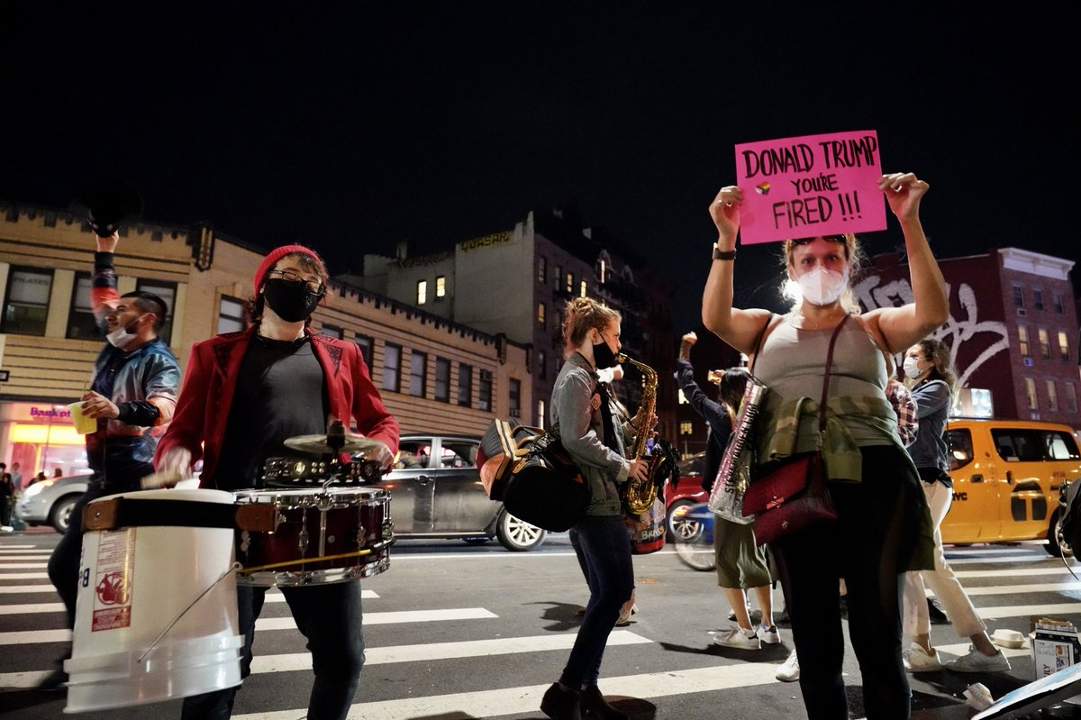 The street party is continuing in the West Village, a stone's throw from Stonewall: