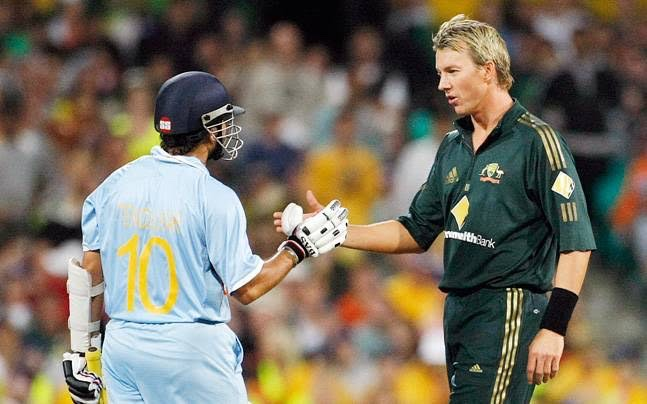 To the one who bowled with ⚡️ speed and never backed down from any challenge, but off the field has always been a joy to know.  Wishing my mate Brett Lee a very happy birthday.