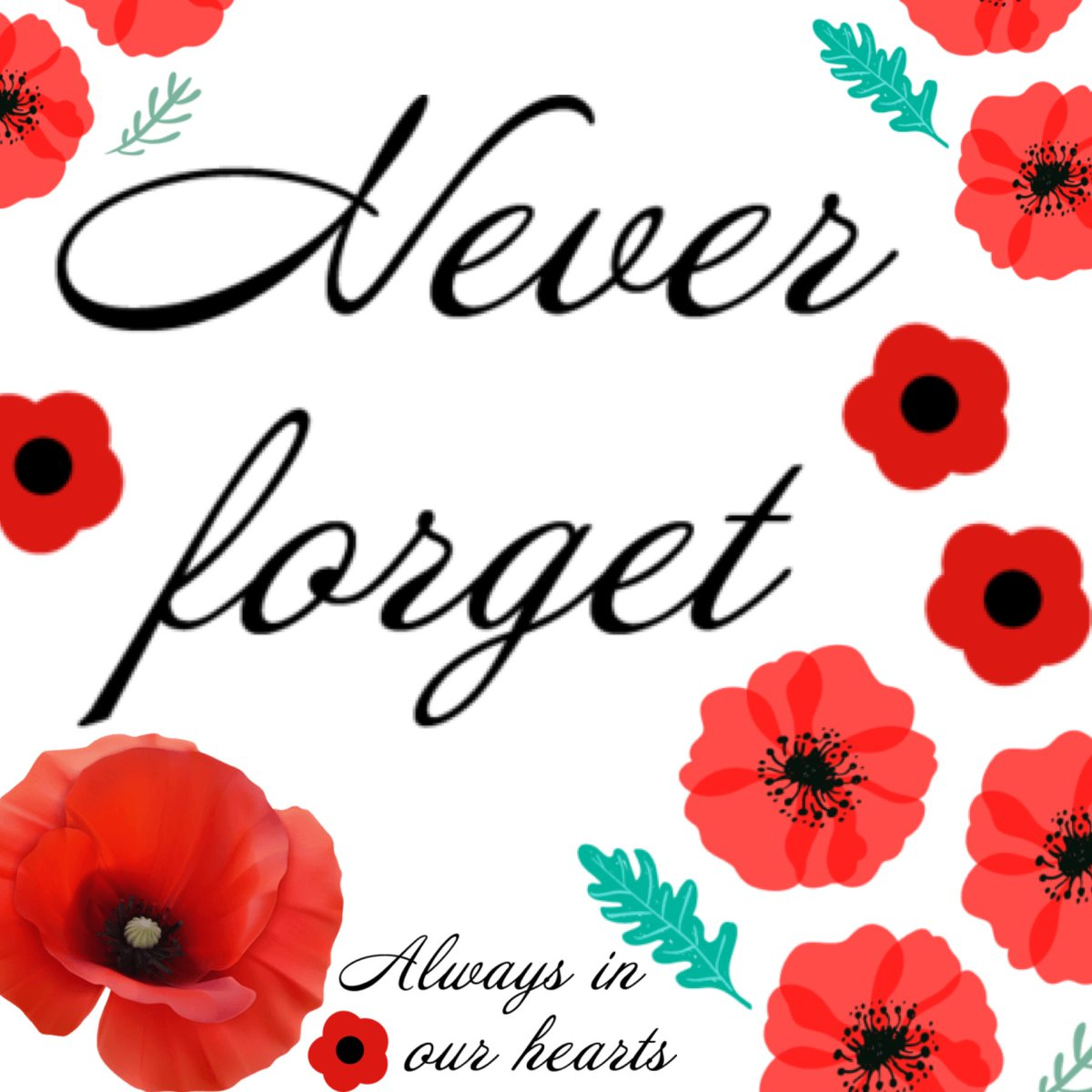 We will remember ❤️ #LestWeForget #RemembranceSunday