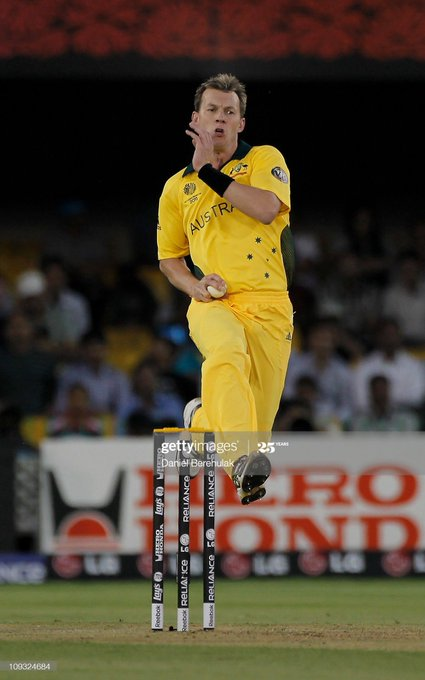 A big happy birthday to one of our finest ever fast bowlers, Brett Lee!