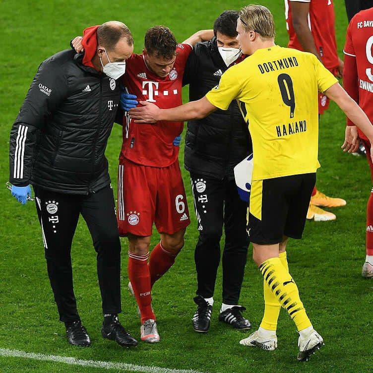 Get well soon Kimmich🤞🏻