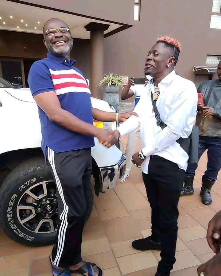 Shatta Wale and Kennedy Agyapong
