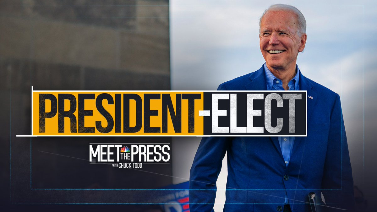COMING UP on #MTP: Election coverage continues with a new president-elect. Biden Deputy campaign manager @KBeds joins. Plus, the man who turned Joe Biden's campaign around, @WhipClyburn, and Sen. @MittRomney. .