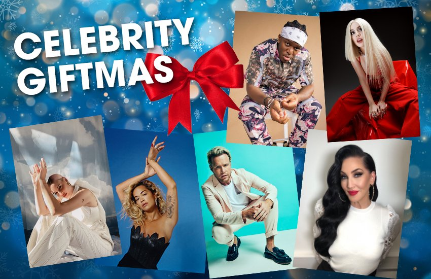 We're giving you the chance to #WIN a Christmas video message from one of our friends, to yours!   @LiamPayne, @KSI, @AnneMarie, @ollymurs, @michellevisage PLUS many more have joined #CelebrityGiftmas 🎁   👉