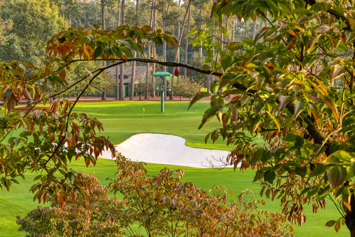 Replying to @TheMasters: Fall brings colors rarely seen at #themasters