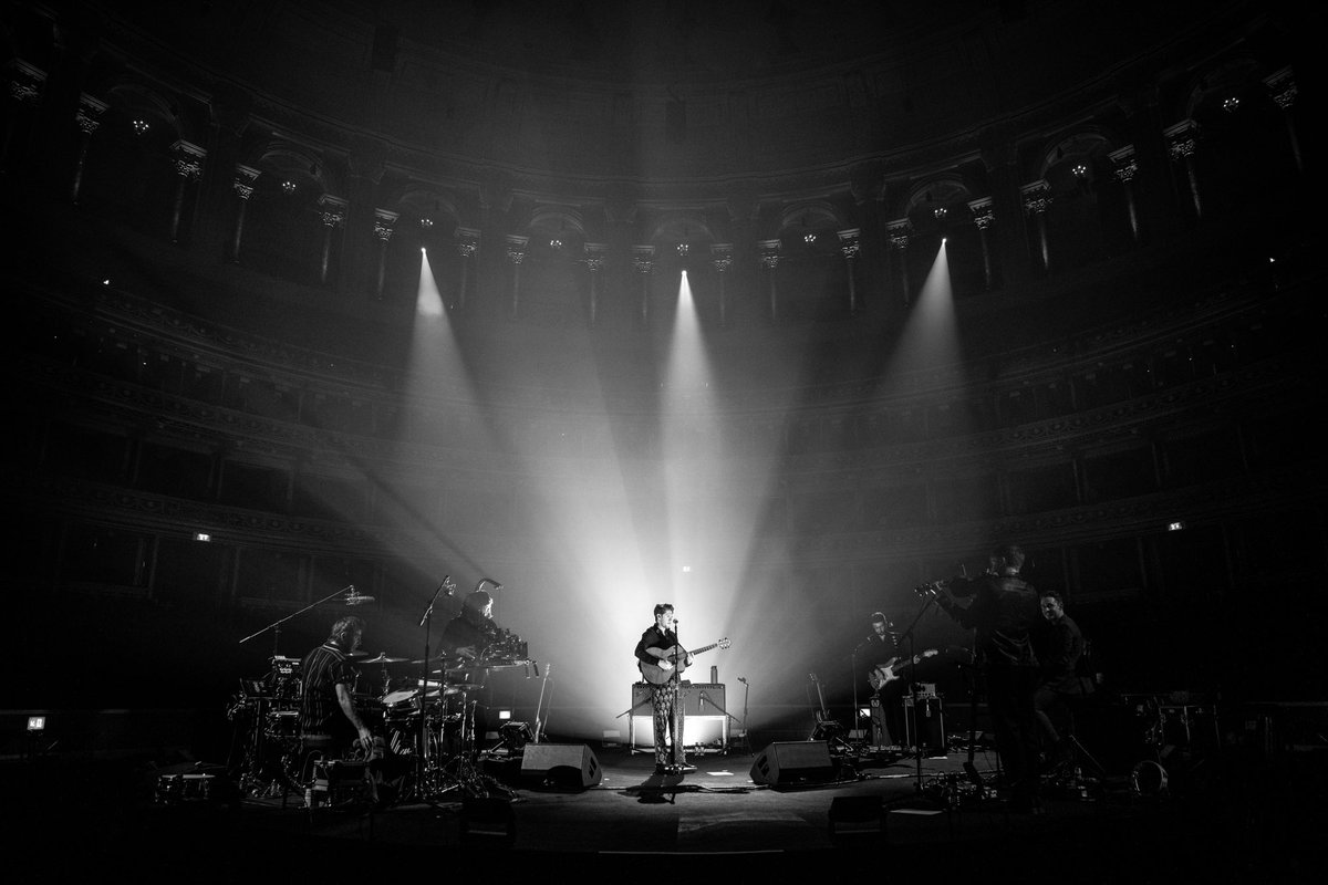 Even more importantly we raised a hell of a lot of money for our touring crew and @WeNeedCrew all thanks to you guys. Thank you to the @RoyalAlbertHall for having us, it looked beautiful. Hopefully we can all get back to work properly at some point and back on the road.