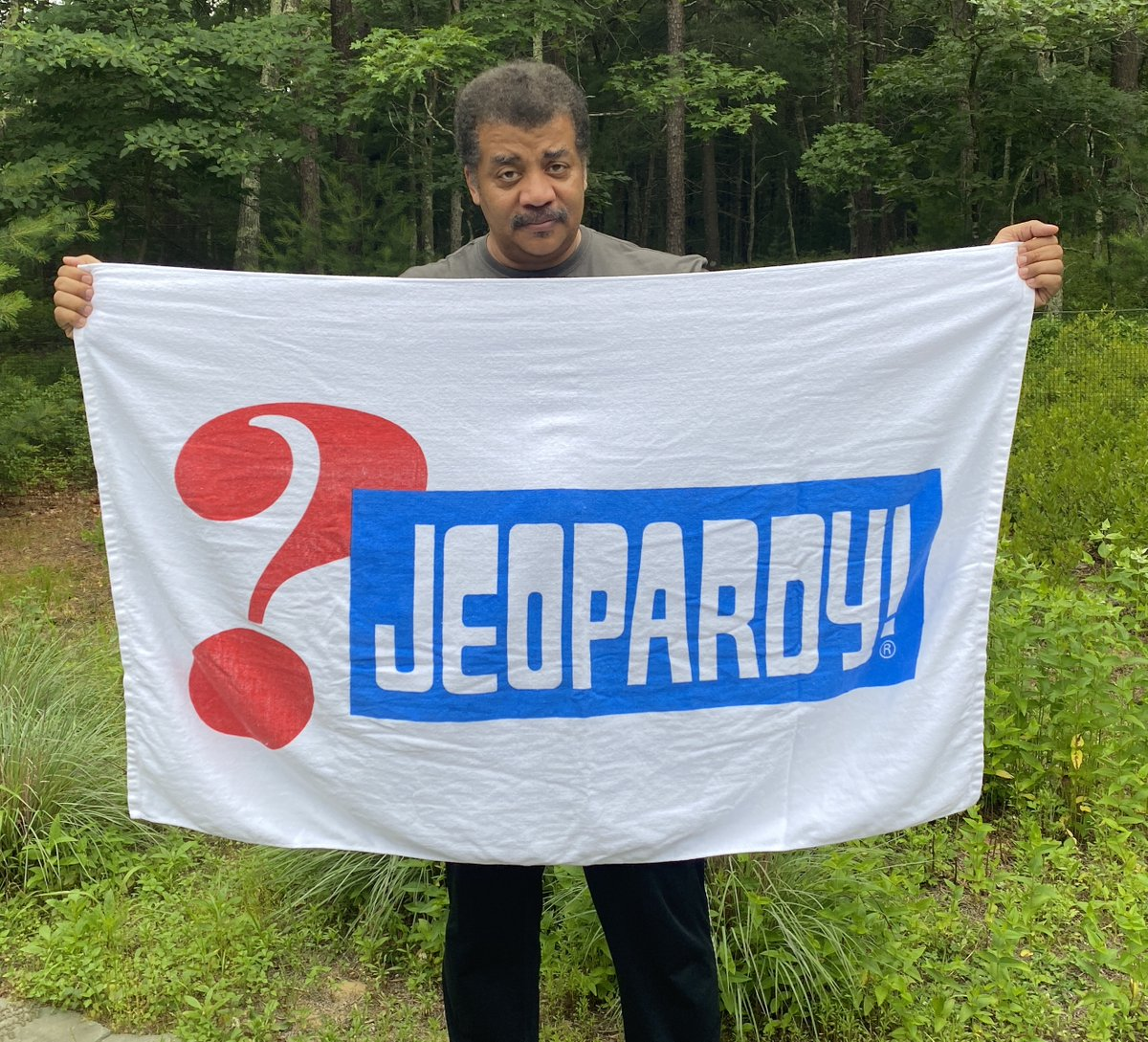 """And now, one last clue:  KNOWLEDGE for $1,000 Answer: """"He nurtured a Television safe-space for smart people""""  Question: """"Who was Alex Trebek (1940-2020) ?""""  Farewell, patron saint of geeks. Jeopardy host since 1984"""