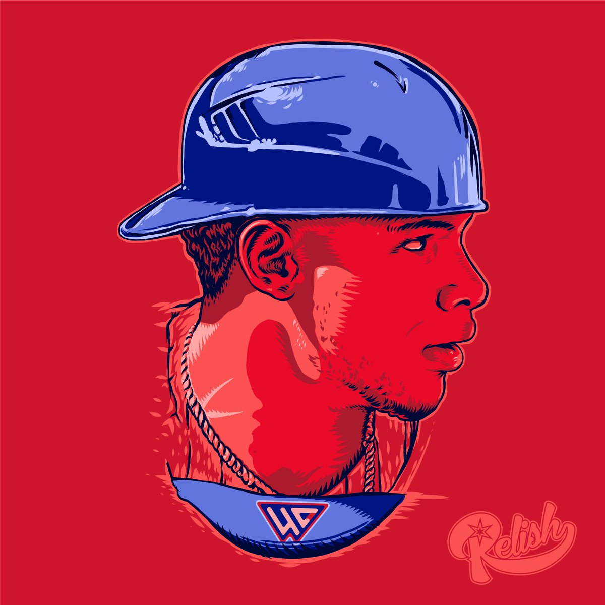 Made an illustration of @WContreras40 for fun. Trying to get back in the mood to draw again. #willsoncontreras https://t.co/jc3vmCfnbQ