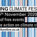 Image for the Tweet beginning: It's here! #ReadingClimateFestival 8-15 November