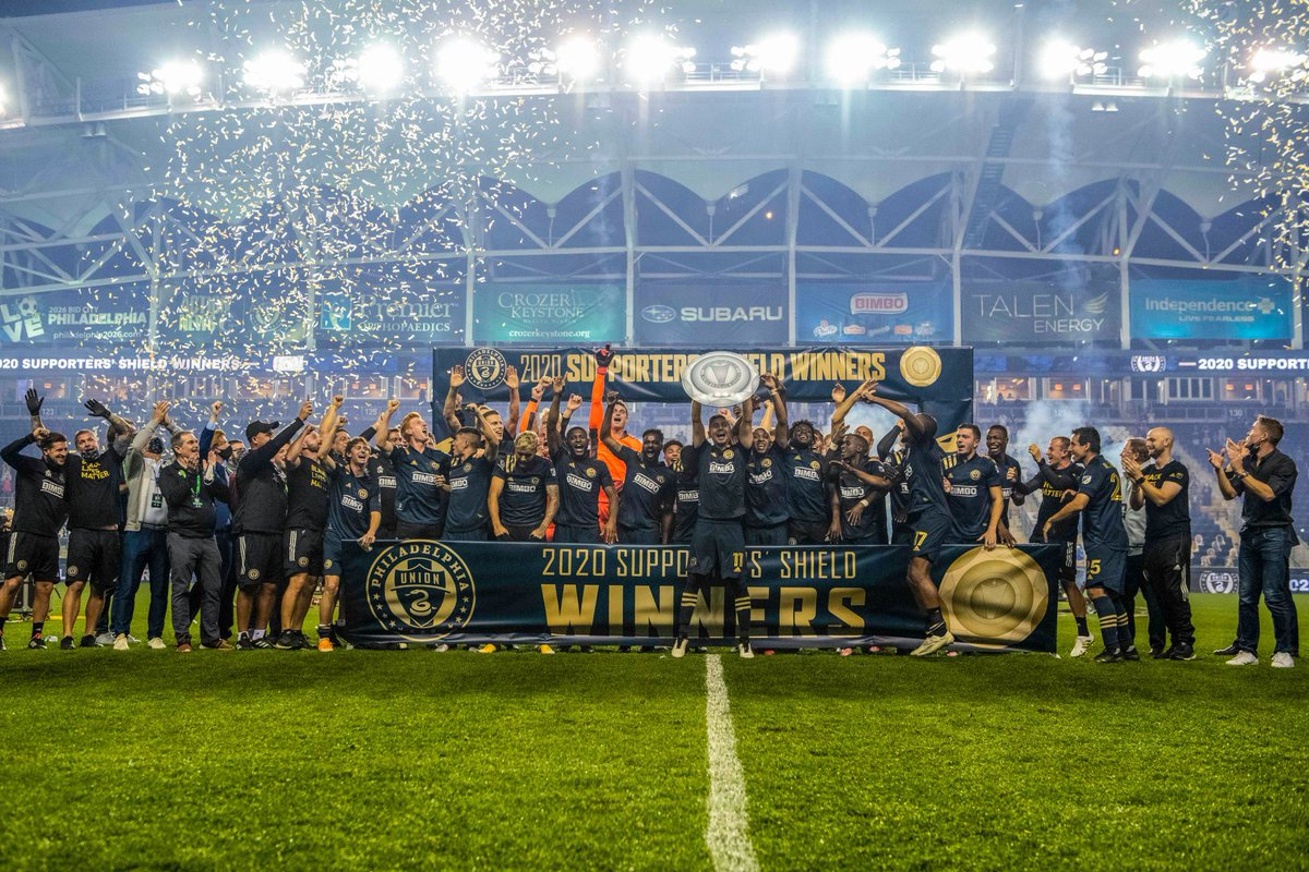Replying to @35Ventures: The 2020 Supporters' Shield Champs 🛡🏆⚽️ Congrats @PhilaUnion!! #DOOP
