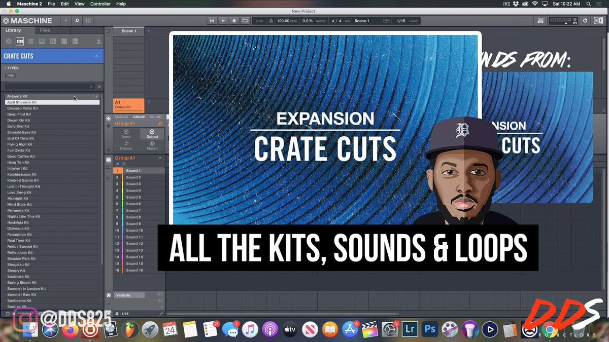 Hip hop beatmakers! Watch @dds825 go sound-by-sound through the new CRATE CUTS Expansion → bit.ly/3jBrXLw 🎧