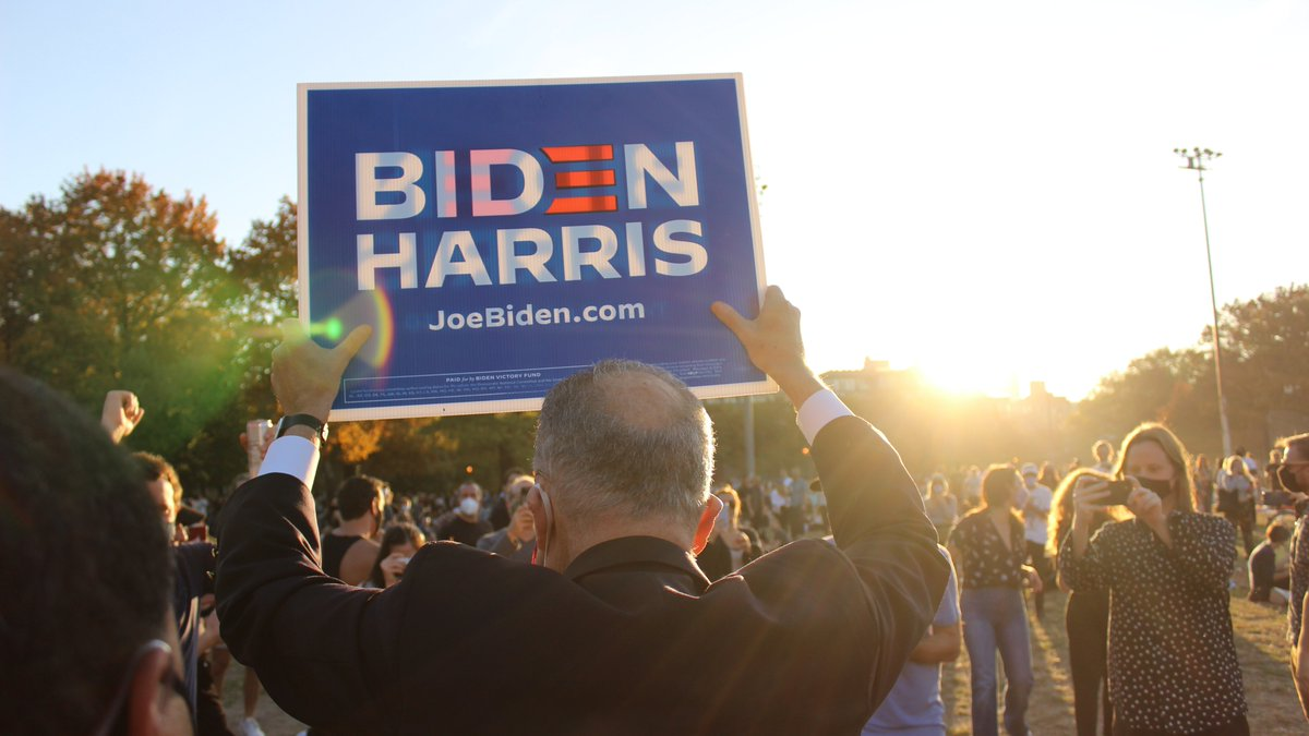 Joe Biden and Kamala Harris will be a great President and Vice President for all Americans.