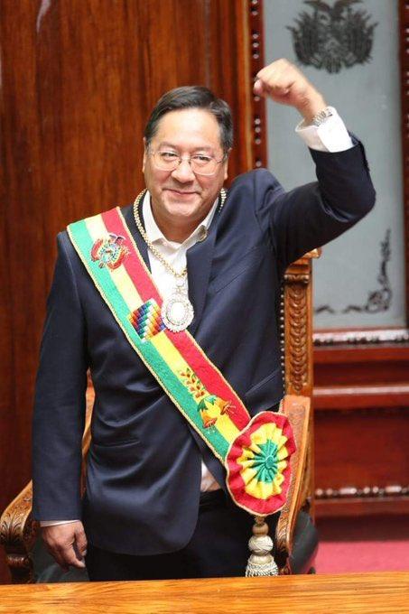 Luis Arce Catacora, presidente de Bolivia