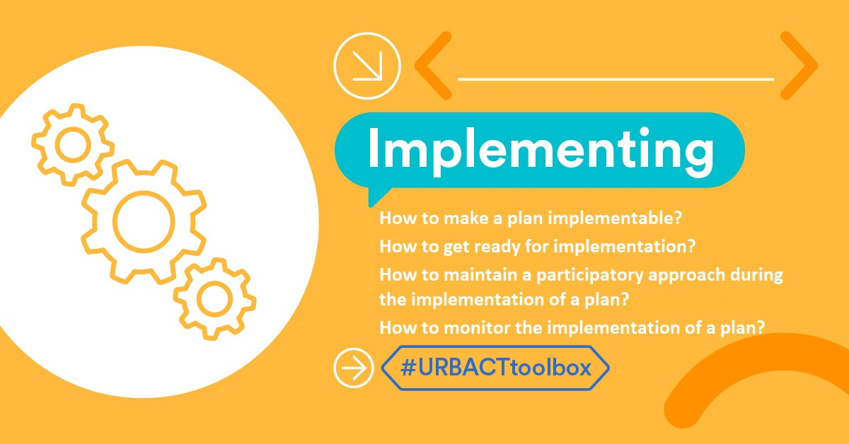 How can cities get their #ActionPlanning in motion? The #URBACTtoolbox provides guides & tools for cities to ensure their plans are operational and to anticipate challenges linked to implementation of the actions: https://t.co/j2pfGtIghW #BetterCities #SustainableUrbanDevelopment https://t.co/S4WBy3OUwF