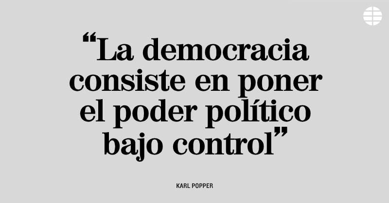 """EL MUNDO on Twitter: """"Nuestra frase del día ✍ Karl Popper… """""""
