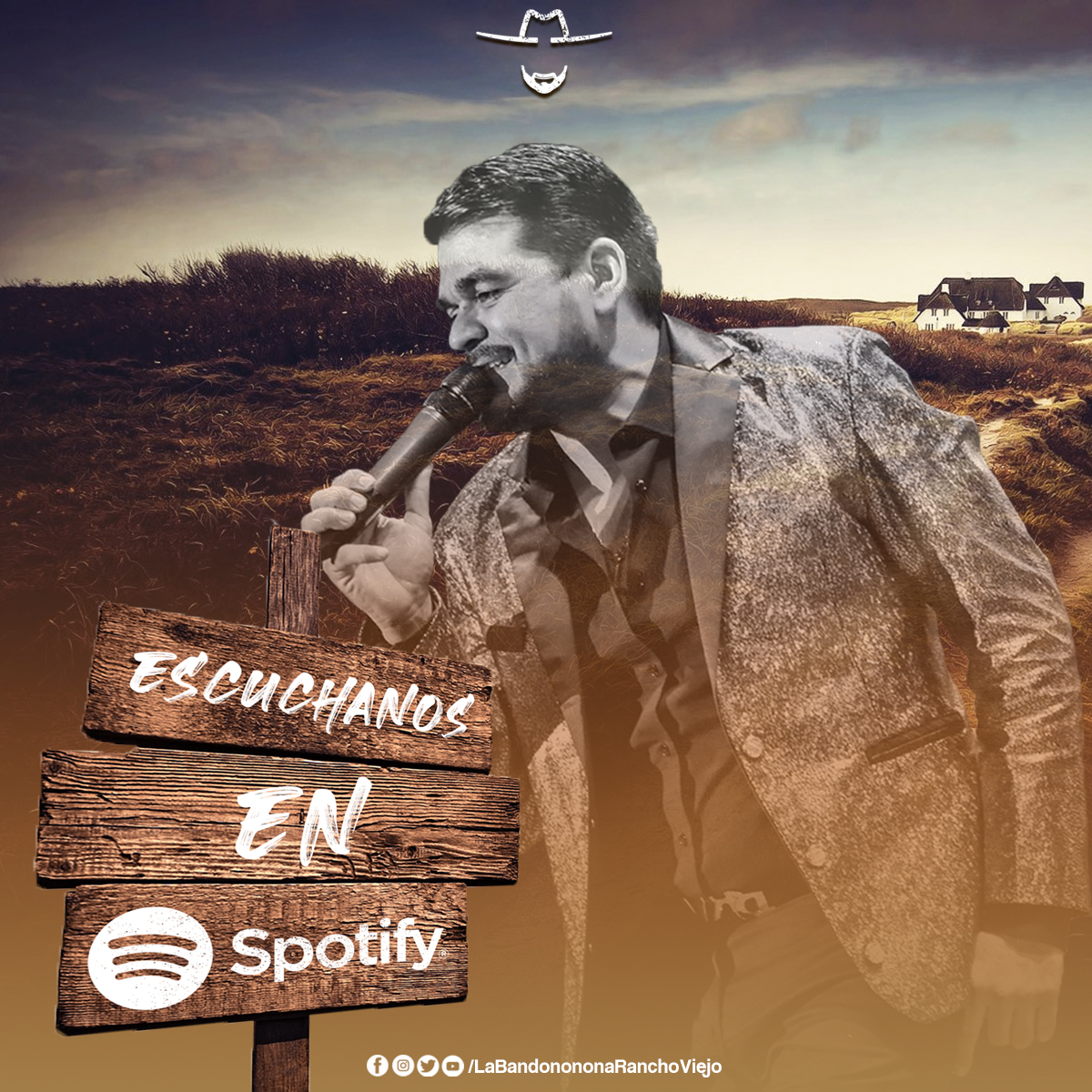¡Mi #GenteDeRancho !🤠 Escucha toda nuestra música #Spotify  🎧🎤 👉 https://t.co/ePXFKE5wWF https://t.co/TiVF9MZnAu