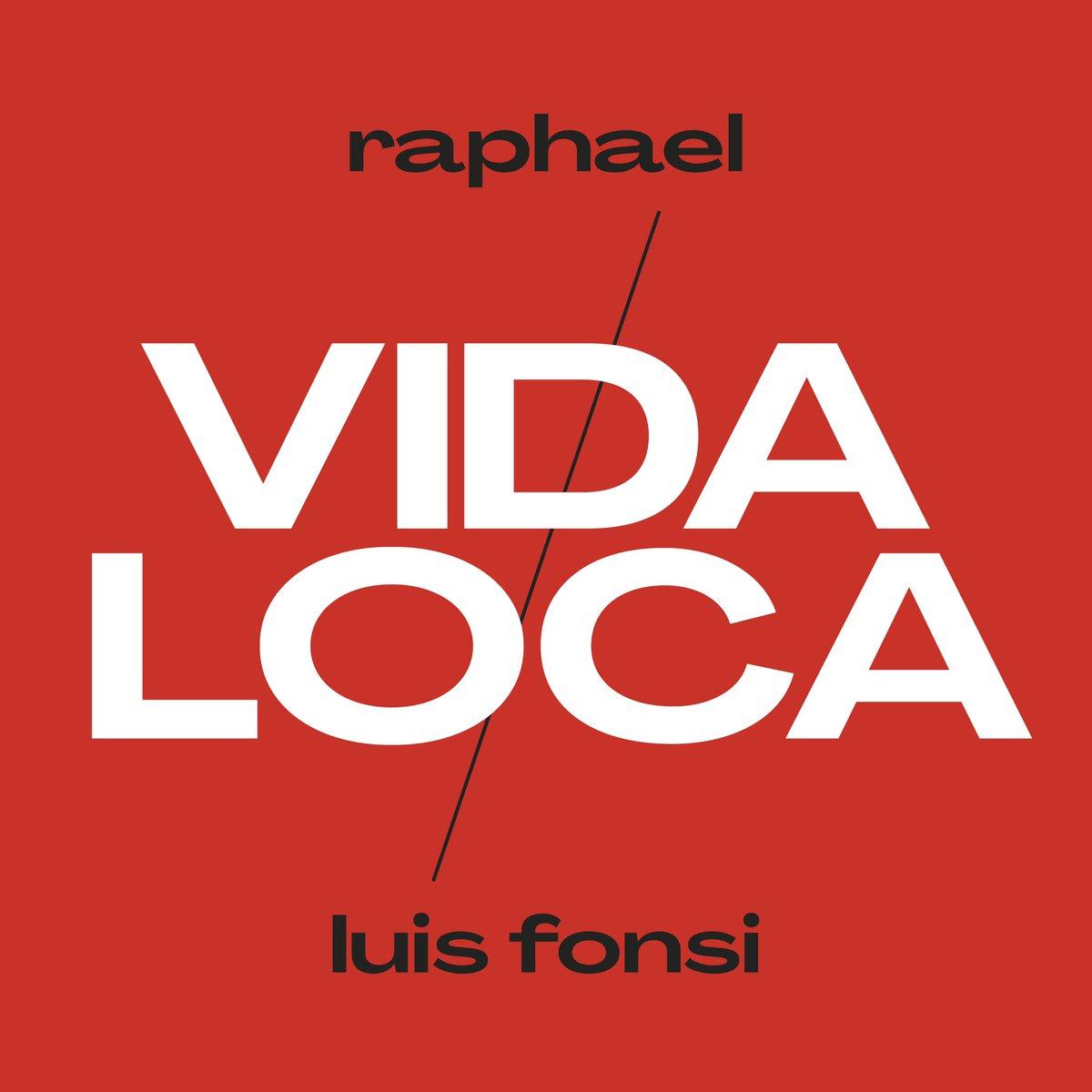 Buenos días gente maravillosa!!Querido @LuisFonsi , qué bonito cantaste nuestra versión de 'Vida Loca'! Un lujo tenerte en este gran proyecto! Gran abrazo, raphael    #Raphael60