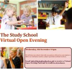 Our Virtual Open Evening was a success and we are looking forward to welcoming new families. Missed it? Don't worry; you can always contact us for a tour and a talk with our Head Teacher at info@thestudyschool.co.uk #newmaldenschools #prepschool @ILG_uk_ltd