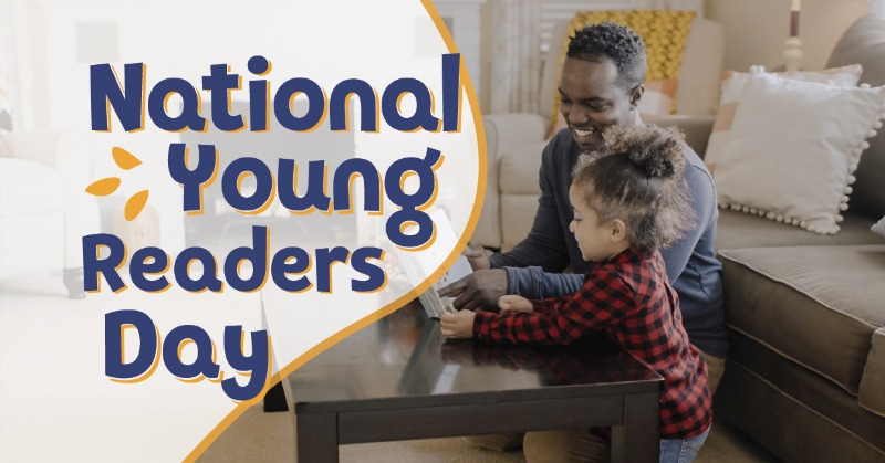 Today is National Young Readers Day. What a great excuse to get lost in a story with your child!