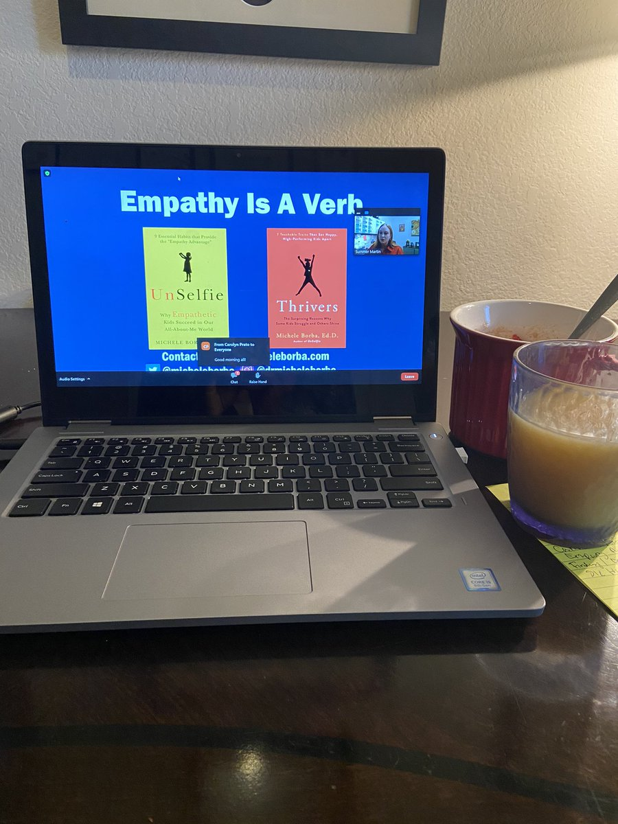 All set and ready to hear @micheleborba keynote this morning. #empathyisverb @LSSSCA1 @ASCAtweets #LSSSCA20