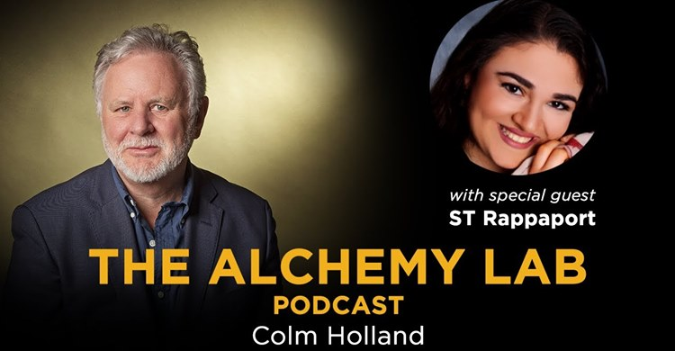 What makes people's relationships extraordinary? I am thrilled to welcome to The Alchemy Lab the amazing and unique ST Rappaport who is a relationship photographer and the host of the LifePix Relationship Podcast. Watch at  #inspiringpodcasts #thealchemylab