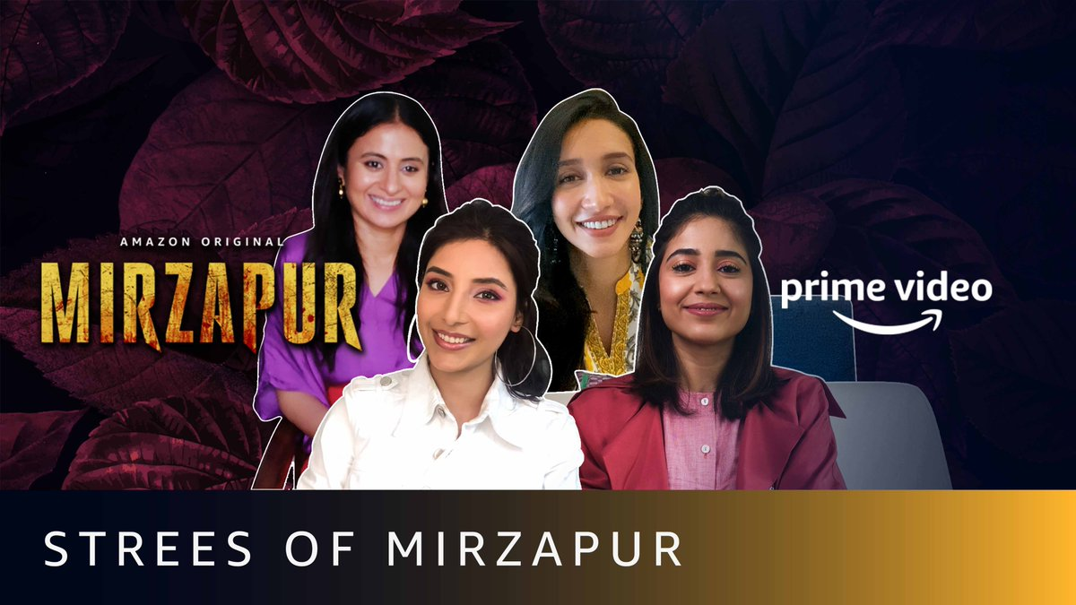 Strees of Mirzapur ki candid chugli @shreya_chaudhry ke sang 👏 #MirzapurOnPrime  @PrimeVideoIN @excelmovies @battatawada @RasikaDugal @HarshitaGaur12   🎥: