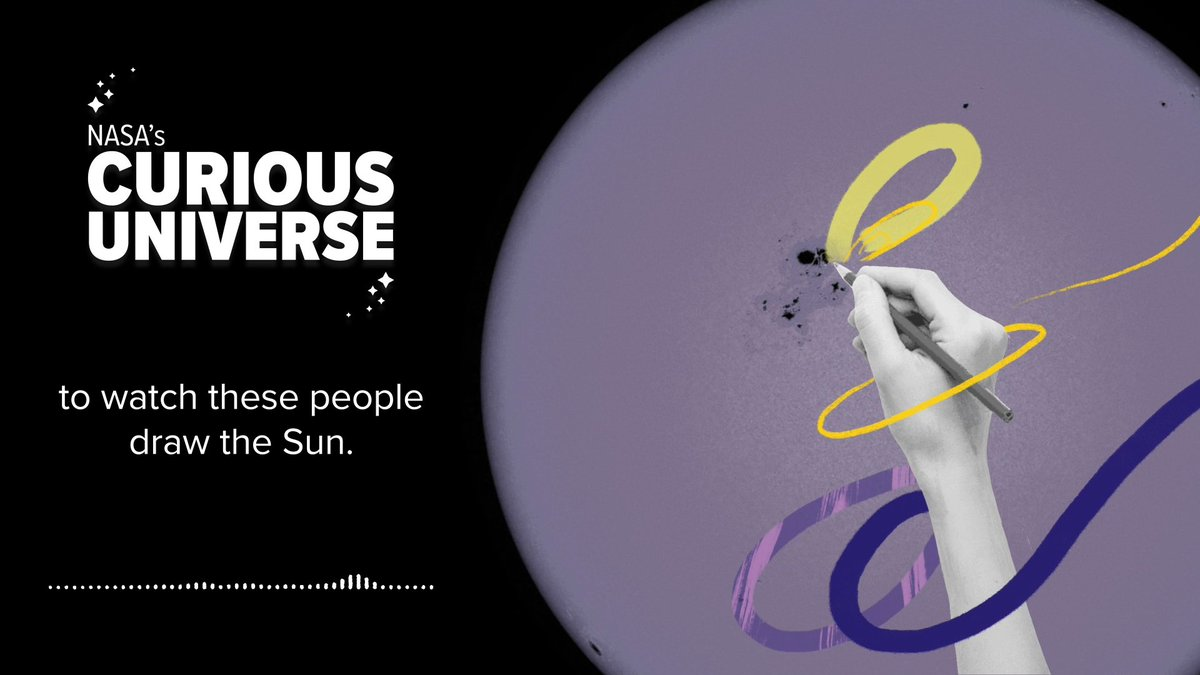 Did you know that the solar cycle has been regularly recorded by hand since 1755? In fact, some sunspot measurements date as far back as 3,000 years ago!  🎧 Check out @NASA's Curious Universe podcast to learn more about solar cycle history: