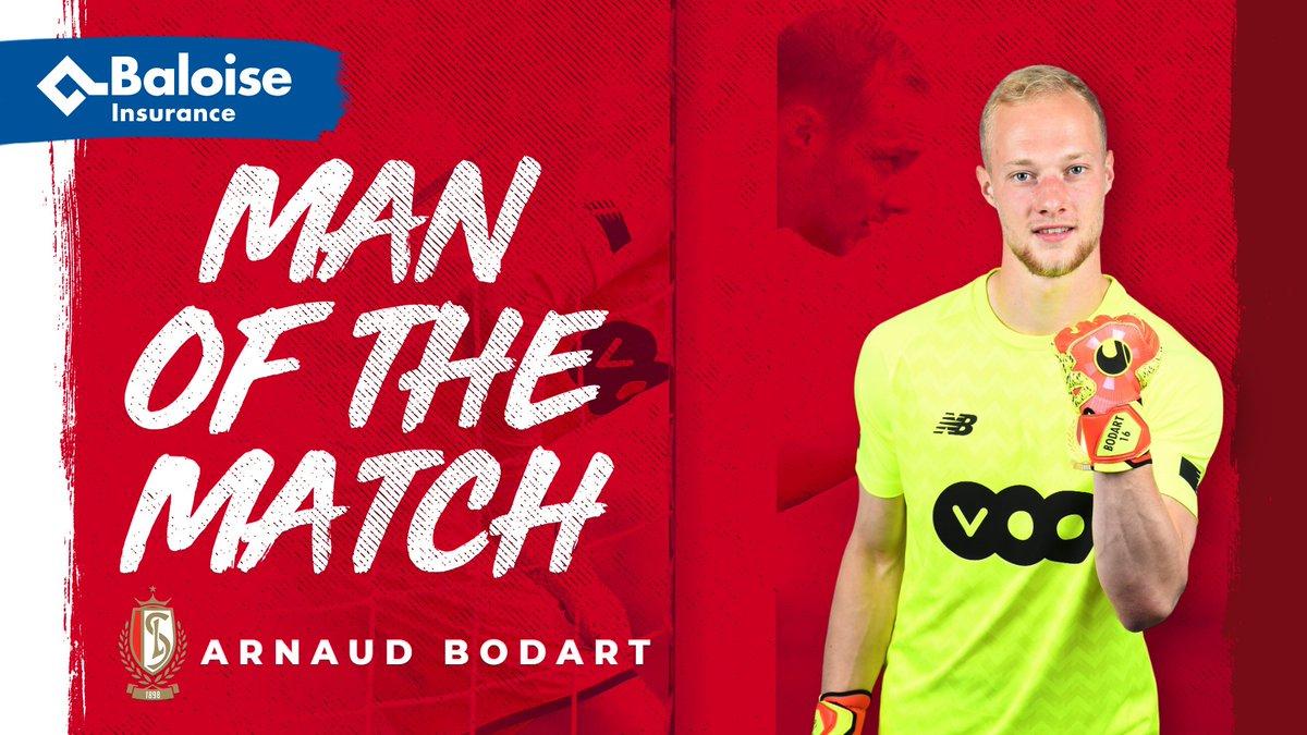 Standard De Li ge On Twitter Baloise Man Of The Match Royal Antwerp FC Arnaud Bodart ANTSTA RSCL StandardApp