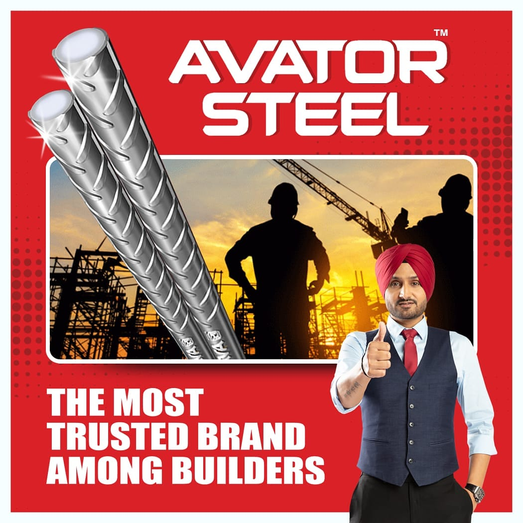 The first choice of every builders, #AvatorSteel provides the required inner strength to your home to overcome earthquakes, corrosion and fire.