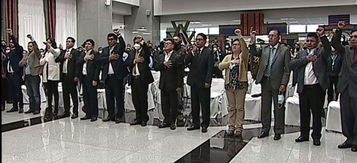 new bolivian cabinet appointed by Luis Arce