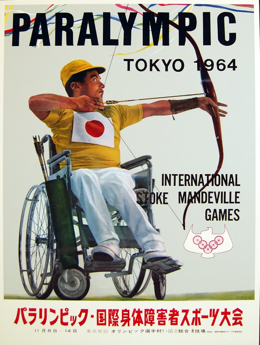 Did you know that #Tokyo1964 were the second Paralympic Games and the first Games to official use the term 'Paralympic'? 🤔  Check it out: https://t.co/n4blAM888X | #Tokyo2020 https://t.co/EuheeNBA02