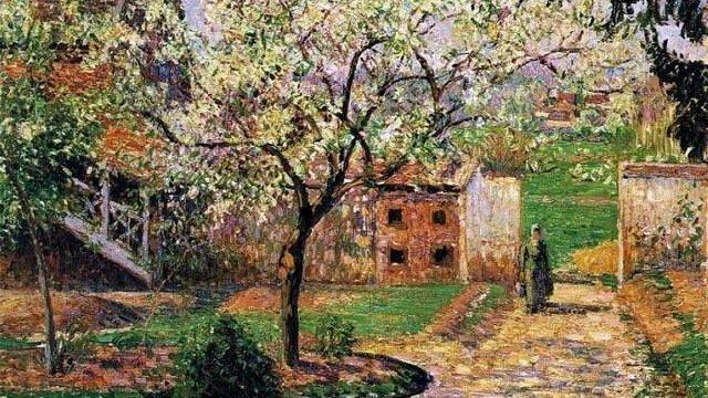 RT @rehana_one: Camille Pissarro  Flowering Plum Tree in Eragny, Paris  #landscape   #painting   #art https://t.co/ZEMFeiKA1v