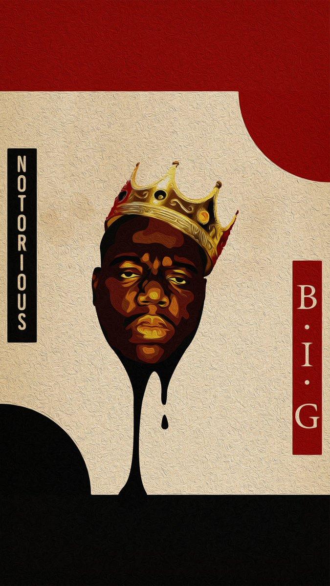 No puedo estar más feliz, me acabo de enterar que el rey de Nueva York fue oficialmente introducido al Hall of Fame. Biggie de los mejores raperos Forever Dejo una ilustración que hice de Biggie #BIGGIEHOF