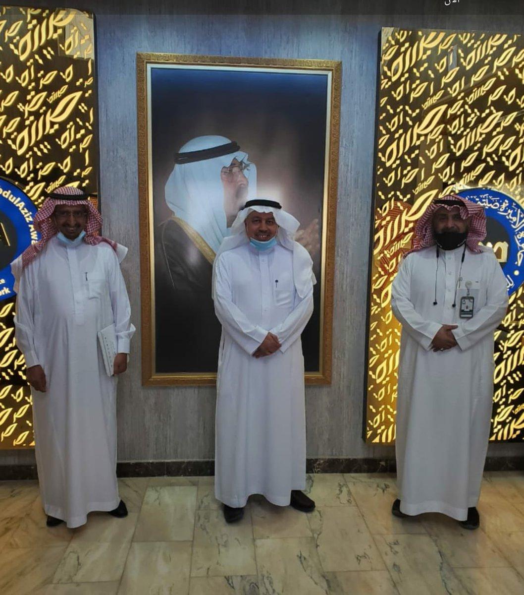 وفد جمعية إنسان في زيارة تعريفية لجائزة الأميرة صيتة لبحث أوجه التعاون