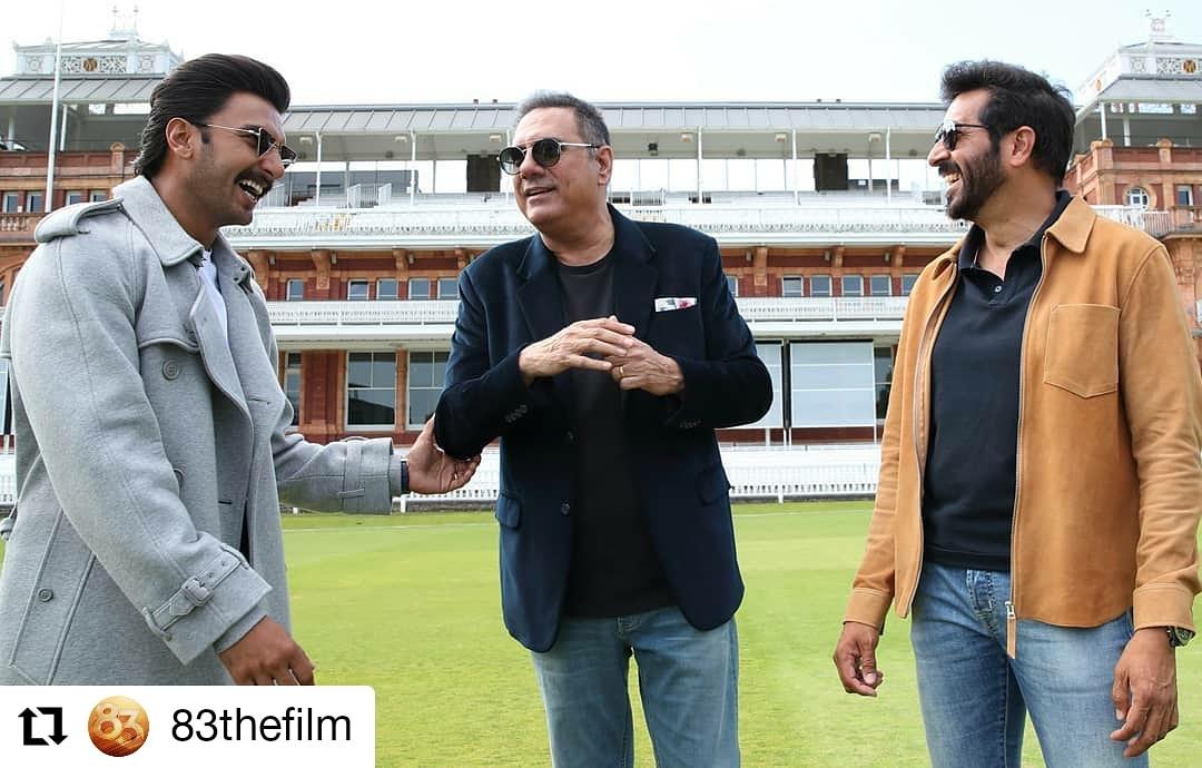 @83thefilm • • • • • • Star cast mein chaar-chaand lag gaya! @boman_irani joins @83thefilm to play the legendary Farokh Engineer. #ThisIs83 #83thefilm