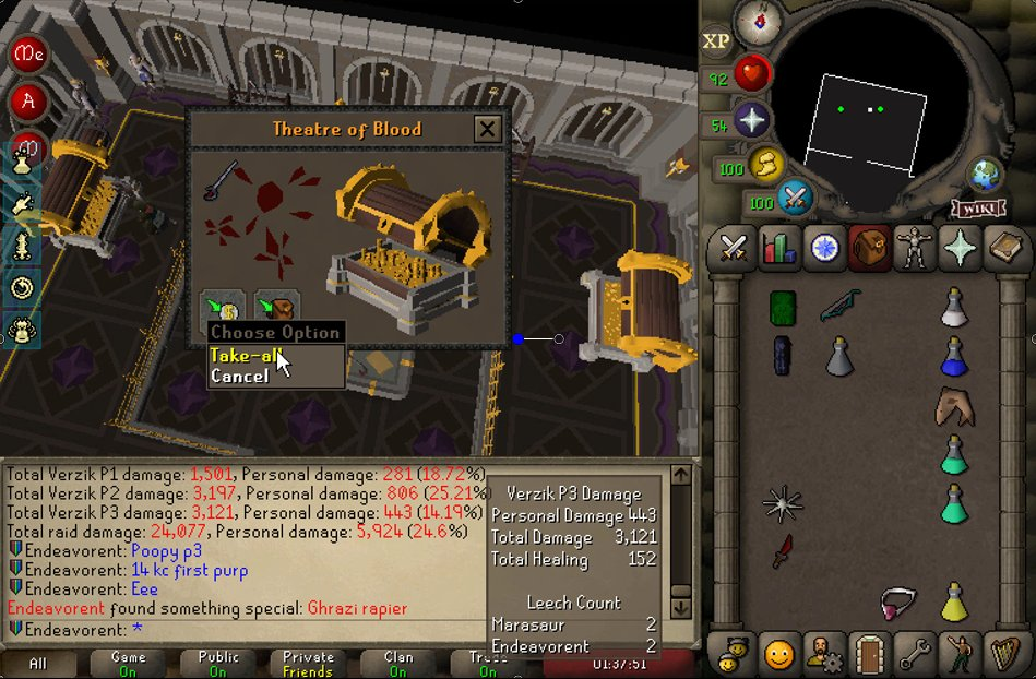 KempQ - Raiding with the worst gear on Trailblazer because I haven't had much time to play, but the best reward for 14 kc :)