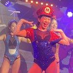 Image for the Tweet beginning: かのちゃん、今日こそはソロパのアレ成功させてね😉CGもありがとう🍾  バブルほんま楽しそうで、つられてガッツリ踊ってしまった🤣  #バーレスク大阪 #第3世代 #わっしょい好き