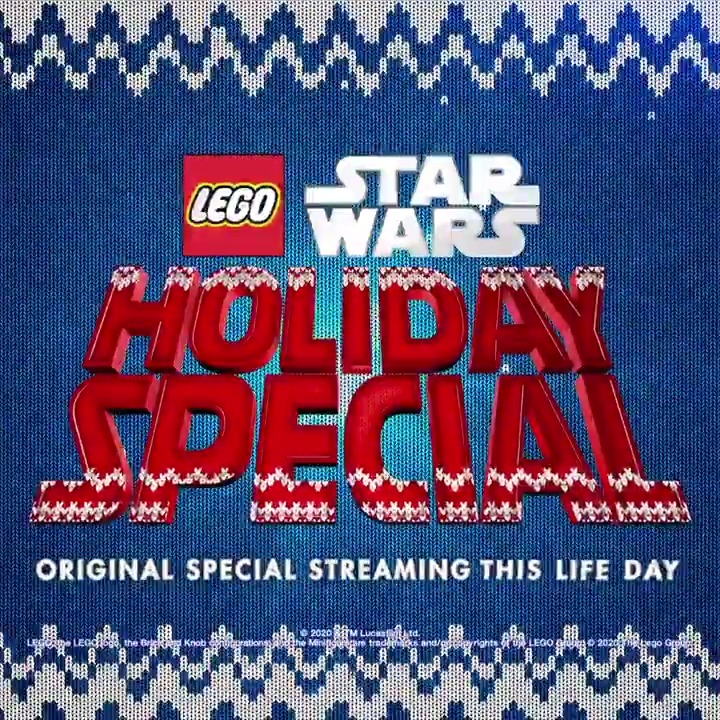 'Twas the night before Life Day... The LEGO Star Wars Holiday Special is streaming tomorrow on #DisneyPlus.