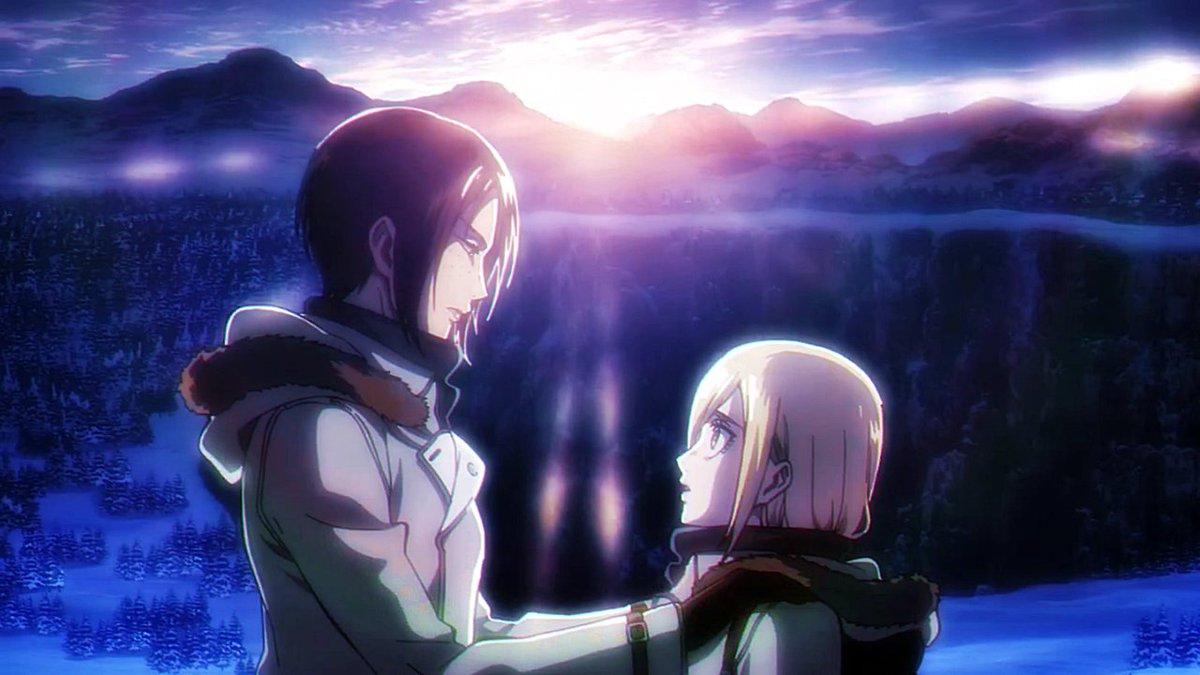 I love the parallels between my favourites ships of SnK! Erehisu and Yumihisu are sooo beautiful!!